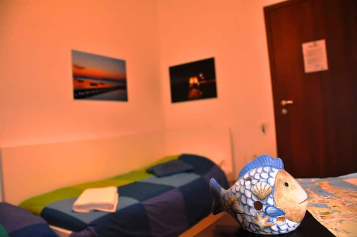 B&B, Pizzolungo Single Room with Private Bathroo