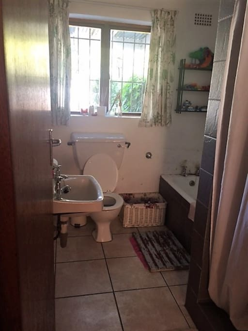 Bathroom including shower