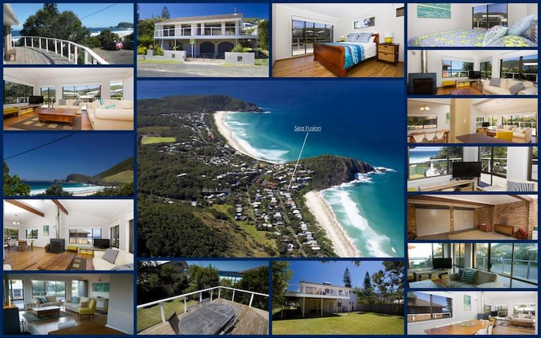 Beach House Seafusion - Blueys Beach - Hus