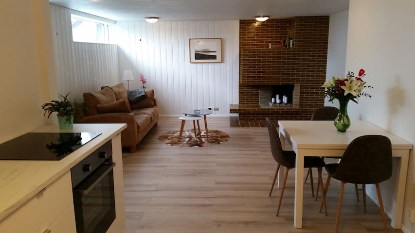 Bright and cozy apartment in Akranes - Akranes - Departamento