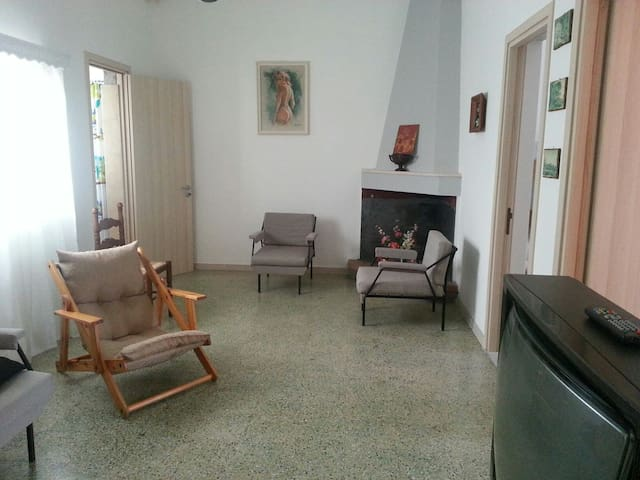 Comoda casa fronte mare - Specchiolla - Huis