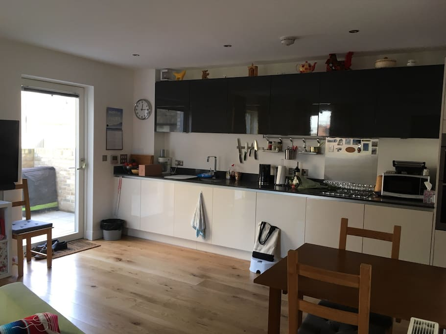 Kitchen area - open space