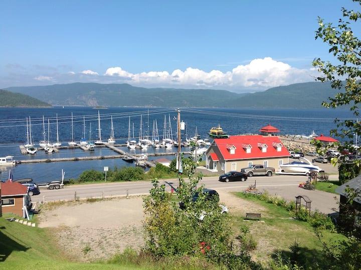 Chalet à l'Anse St Jean , Saguenay