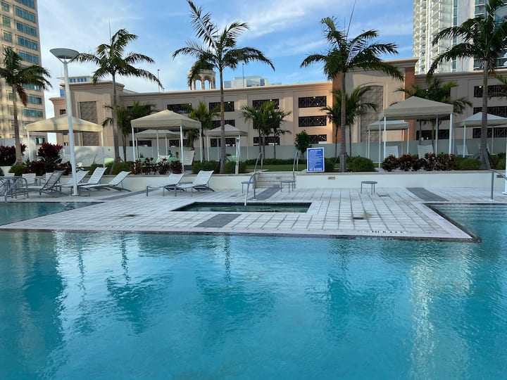 LUXURY, St Pete condo Minutes walk to  the Pier