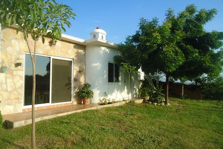 Casa Cupulas a home in nature with ocean view