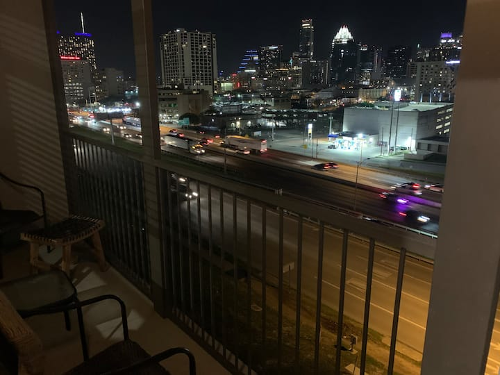 Downtown views on the heart of Austin.