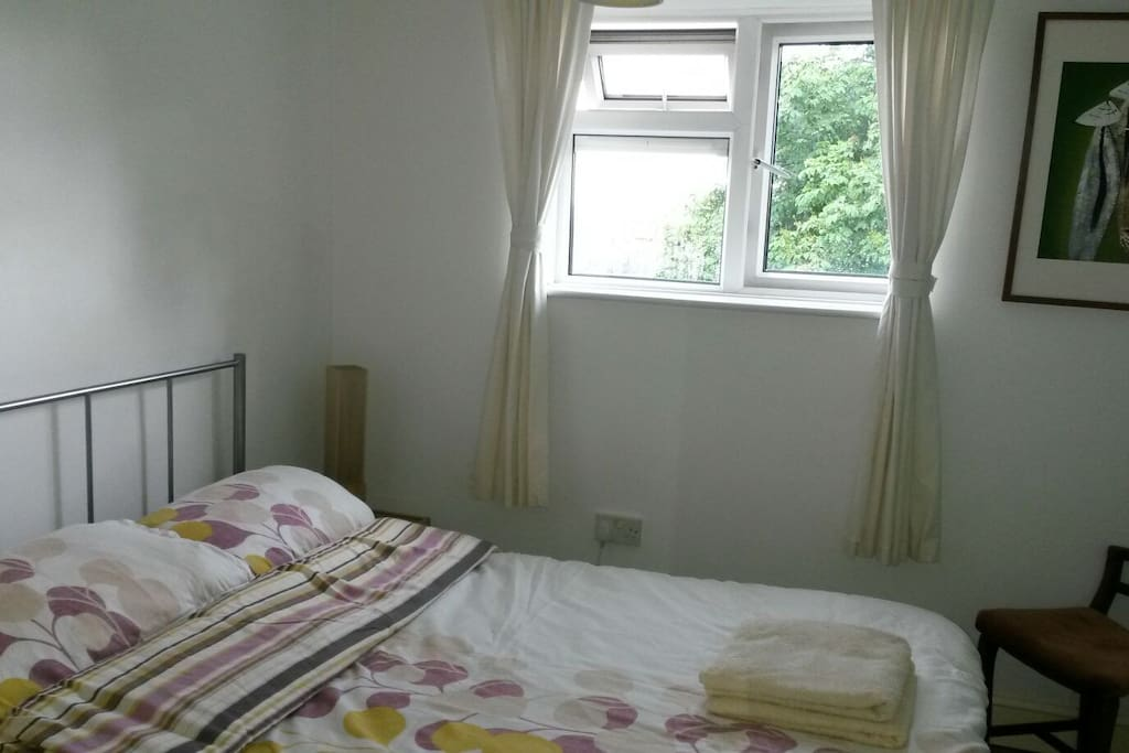 Bright, airy double room