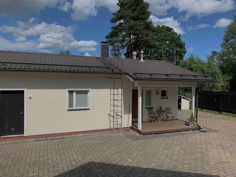 Small private house near the centre of Kouvola