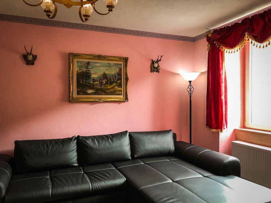 Apartment PALAIS (61 m²) – für 2 - 4 Personen Wohnbereich
