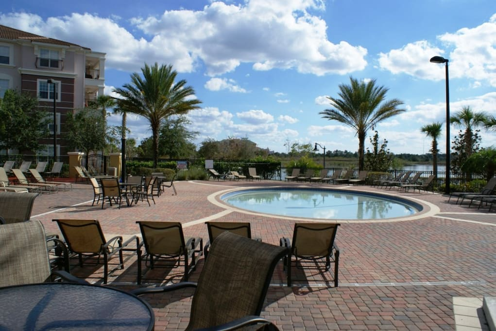 3 Bedroom Condo With Community Pool Spa Houses For Rent In Orlando Florida United States