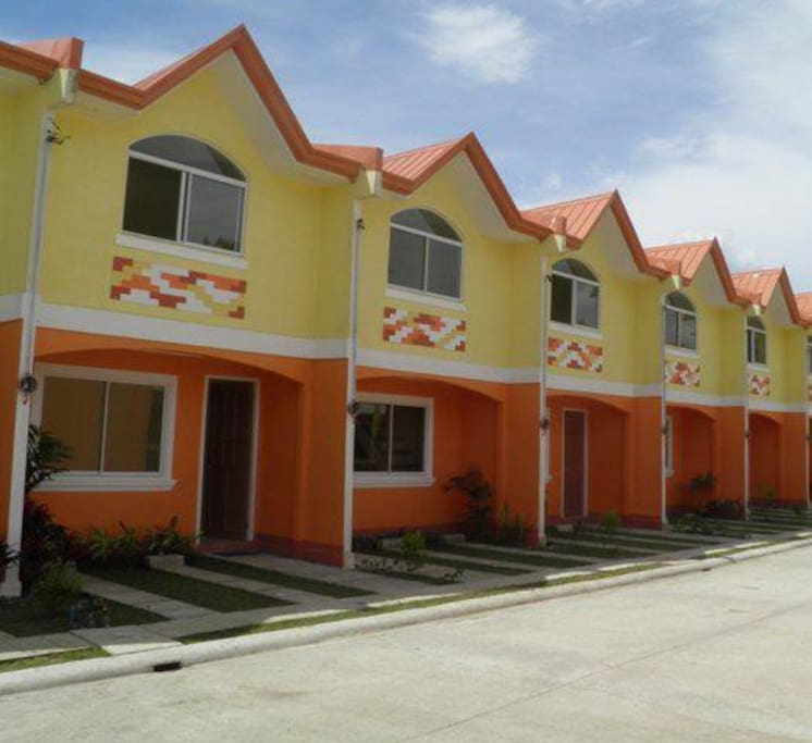 This is the townhouse subdivision