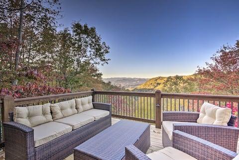 Brevard Chalet w/ Stunning Blue Ridge Mtn. Views!