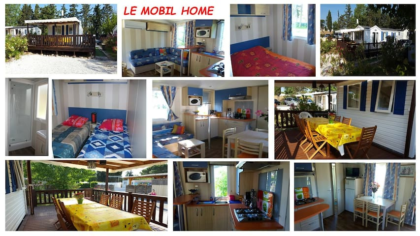 LOUE MOBIL HOME CLIM 4/6 PERSO CAMPING 4 ****
