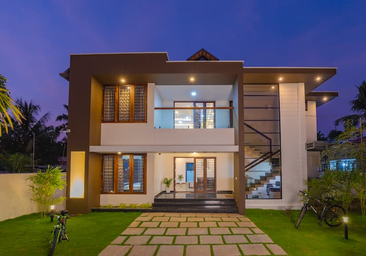 Haven Alleppey Beach Villa