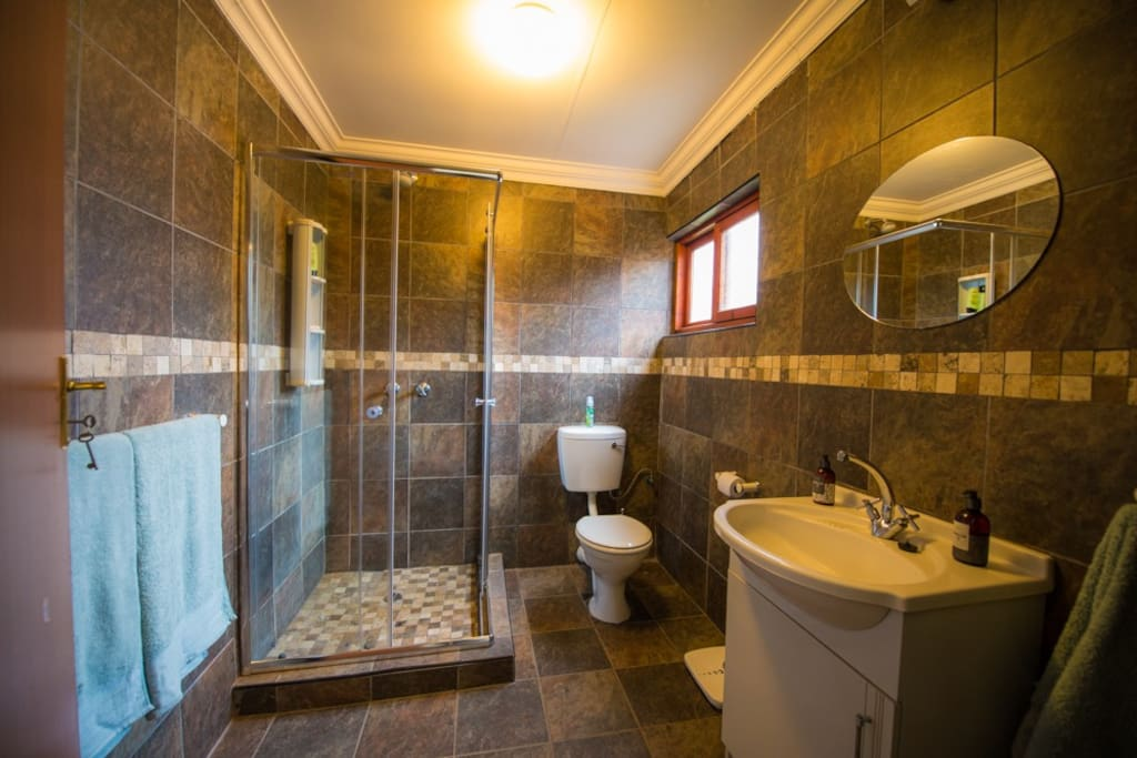 Shower, toilet hand basin