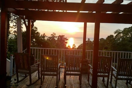 Modern 2BR GuestH with Beach Access - Fairhope - Casa