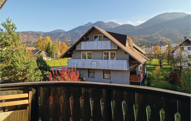 Holiday apartment with 1 bedroom on 106m² in Bohinjska Bistrica