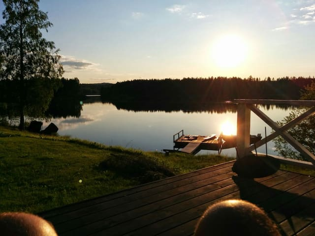 HIdden gem in Lassbyn, Swedish Lapland