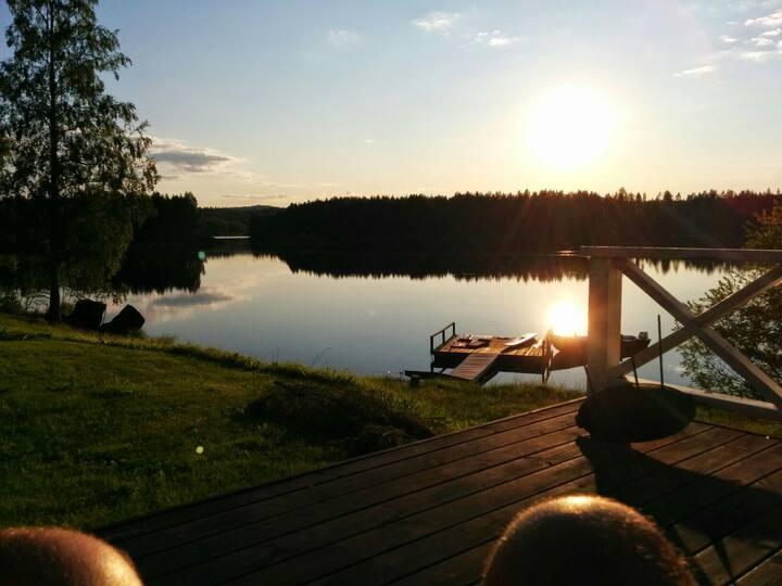 HIdden gem in Lassbyn, Swedish Lapland
