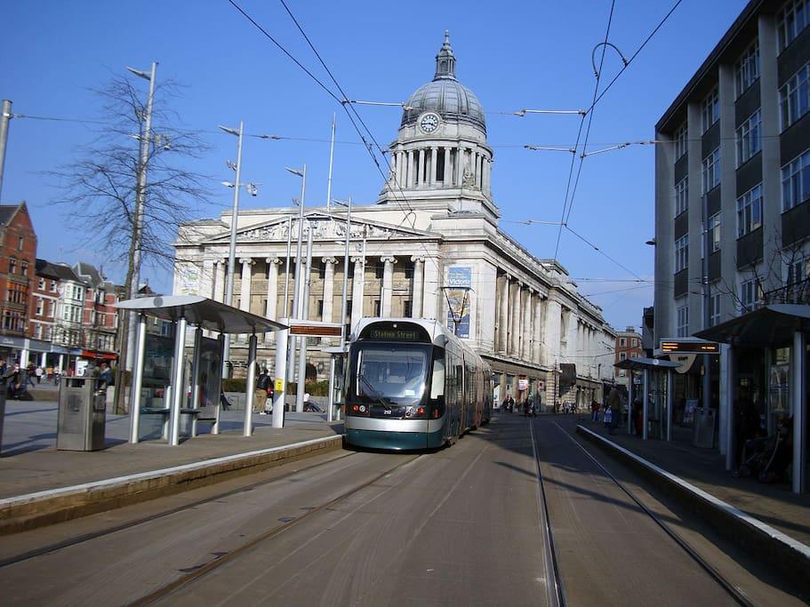 Tram line