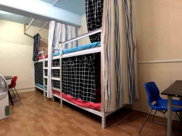 女生專用4人房