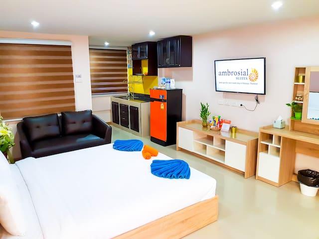 Ambrosial Suites Premium Room Люкс премиум класса