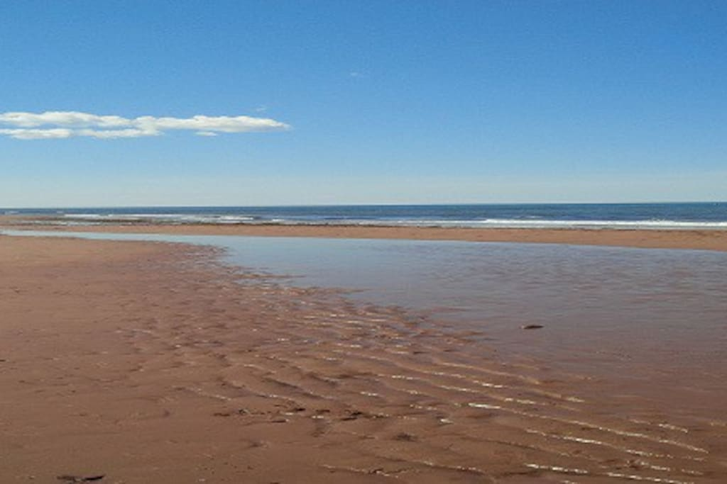 Property is beside two of Prince Edward Island's best beaches.