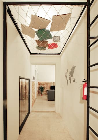 Lebanese flat with Garden & Flying Bed - MarMkhael