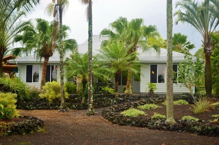 Beautiful home near beach - Pāhoa - Huis