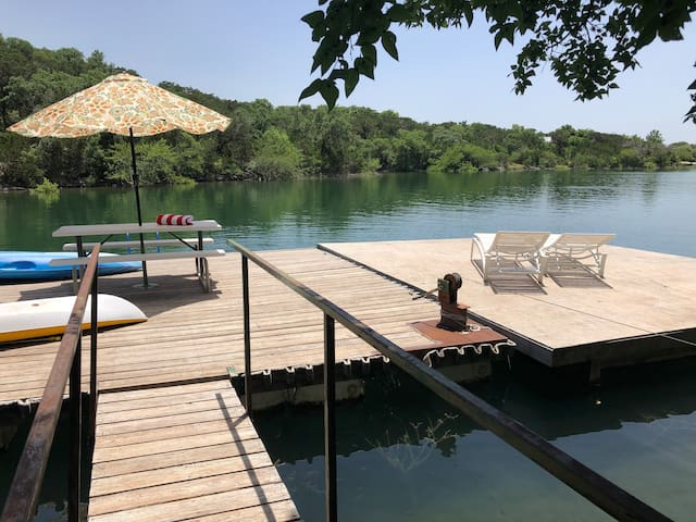Medina Lake Waterfront in the Texas Hill Country