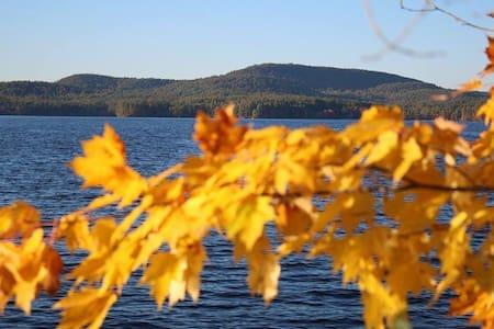 Summer Camp Cabin on a Lake: X-Mansion - Raymond - Mökki