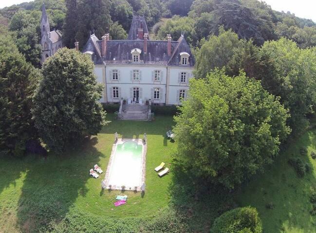 Slapen op een Chateau