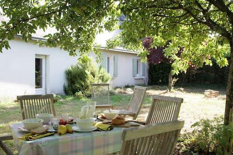 """""""la Poésie"""" charming cottage in Varennes sur Loire"""