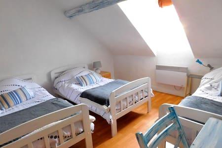 Les Bleuets, Chambre d'Hôtes - Trie-la-Ville - Bed & Breakfast