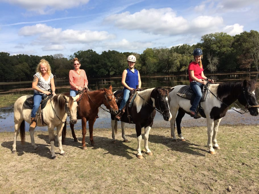 Trail Rides Offered