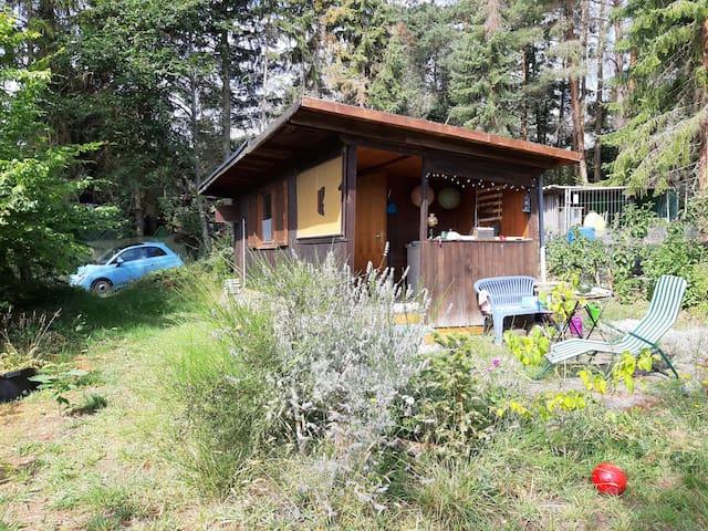 Tranquility Hütte im Wald zum absoluten Abschalten