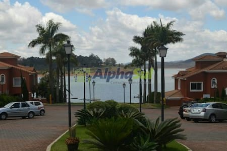 Quarto com vista Lagoa dos Ingleses - Nova Lima - Rumah