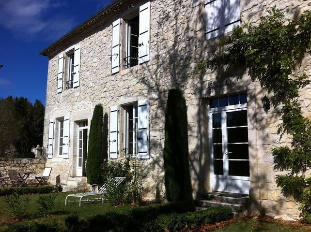 Chalet  mit Garten und Pool - Saint-Clar - Casa