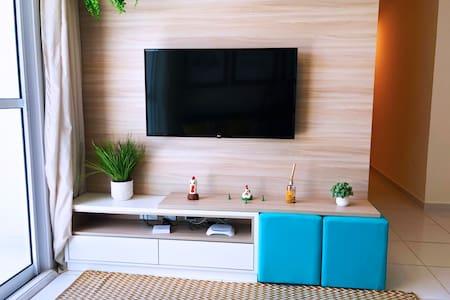 Lindo apartamento para 10 pessoas com 03qtos
