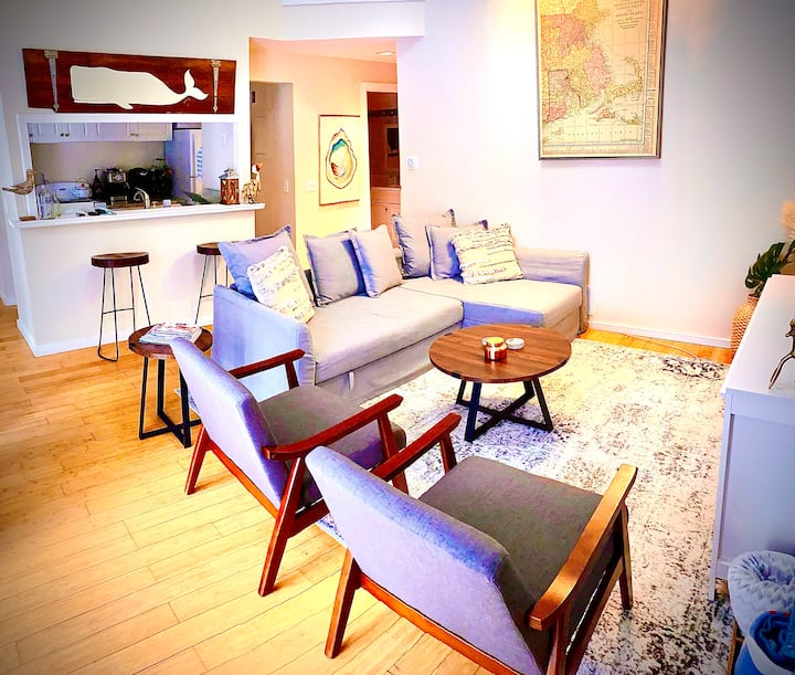 Modern 2BDRM Cape Condo: New Seabury, All Seasons!
