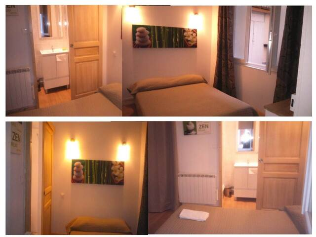 Chambre Double Standard - Ax-les-Thermes - Mobilyalı daire