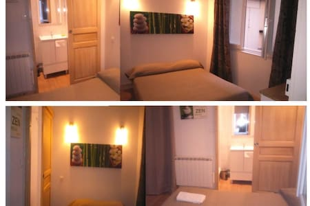 Chambre Double Standard - Ax-les-Thermes - Serviced apartment