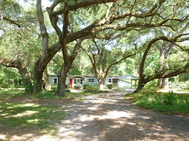 Peaceful Retreat - Johns Island - Talo