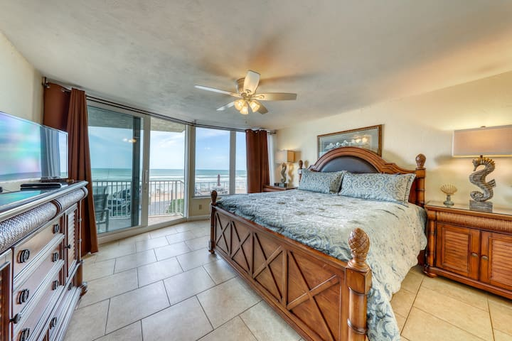First Floor Ocean Front Dog and Family Friendly Condo