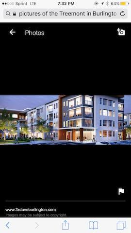 2 Bdrm Apt in Burlington MaMODERN! - BURLINGTON - Apartment