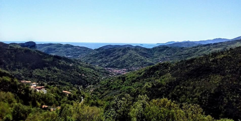 Appartamento vista mare a Calice Ligure