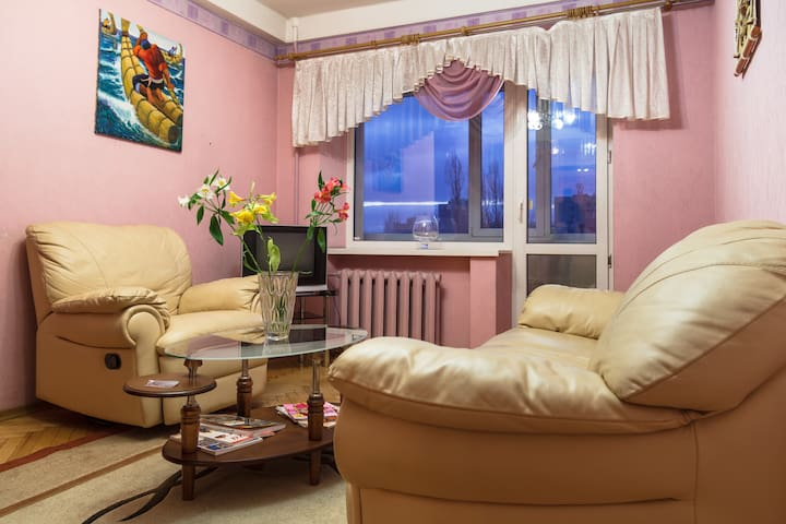 two-room apartment junior suite in the center - Zaporizhzhia - Apartmen