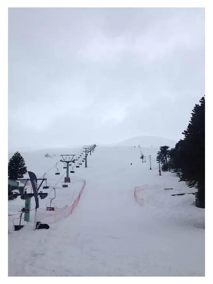 """Departamento en el centro de Ski """"Las Araucarias"""""""