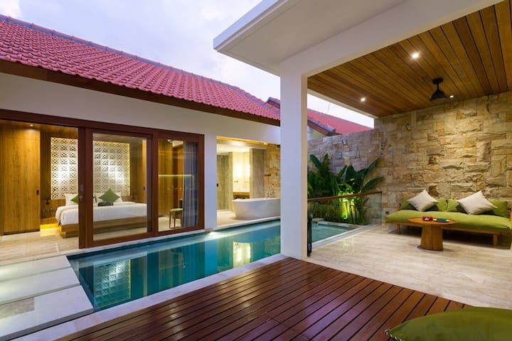 Best Romantic 1 BR Private Pool Villa Sanur Bali