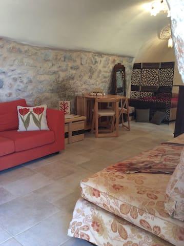 Unique stone house in Mani